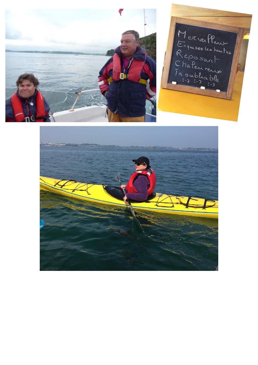 2 semaines de rêve en baie de Morlaix en mai 2018